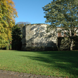 Multangular Tower in the Autumn