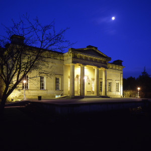 Yorkshire Museum front by night. Photo by Jim Kershaw
