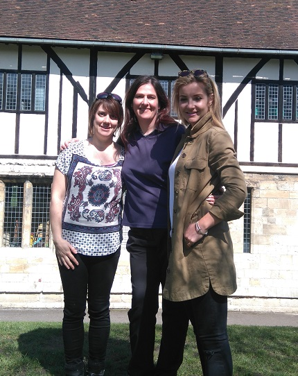 Gardens Manager Alison Pringle (centre) featured on BBC One's The Instant Gardener.