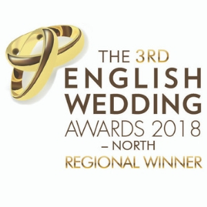 The Hospitium was named the best wedding venue in Yorkshire at the award ceremony of The English Wedding Awards 2018.
